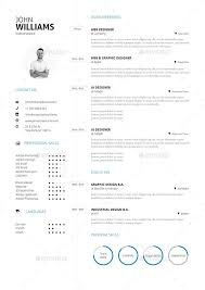 Clean Resume Template 42 Impeccable Resume Templates Word Psd Indd Ai Download