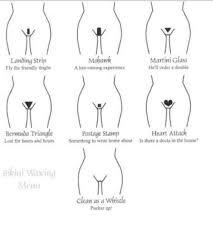 how to shave a heart into my pubic hair bikini wax menu esti waxing pinterest cosmetology ingrown