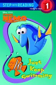 step reading swimming disney pixar finding nemo