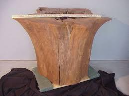 tree stump table base tree stump table base dining table design ideas electoral7 com