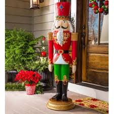 Nutcracker Statues Christmas Decorations by Life Size Christmas Nutcrackers You U0027ll Love Wayfair