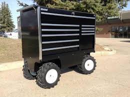 box cart motorized electric pit carts designed to move heavy tool boxes