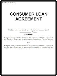 10 best images of loan agreement contract template personal loan