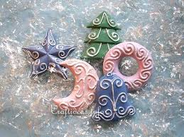 craft idea for plaster of ornaments