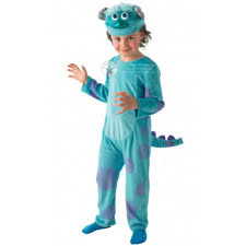 sully halloween costumes monsters inc kids deluxe monsters inc sulley costume morph costumes uk