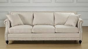 Uncomfortable Couch Amazon Com Tov Furniture The Camden Collection Contemporary Linen