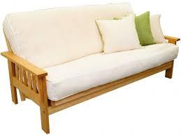 oak futon sofa bed cornerstone wood amish flat arm shaker futon frame oak futon frame