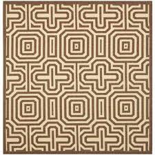 Square Indoor Outdoor Rugs Brown Square 7 And Larger Outdoor Rugs Rugs The Home