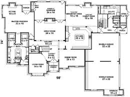 six bedroom floor plans sensational 6 six bedroom house plans homepeek