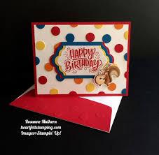 Birthday Delivery Polka Dot Birthday Delivery Heartfelt Stamping