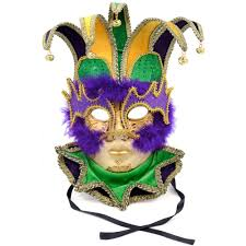 jester mardi gras deluxe mardi gras jester mask 36006 craftoutlet