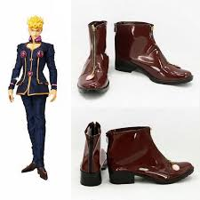 s boots made in jojo s adventure qiao lunuo shoes carnival