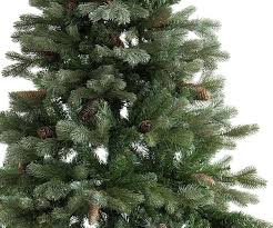 frosted artificial christmas tree christmas lights decoration