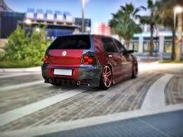 volkswagen golf custom 3d asset volkswagen vw mk golf 4 r32 blackedition