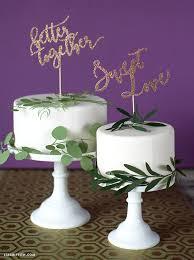 glitter cake topper glitter paper wedding cake toppers