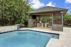 Pool Houses And Cabanas Freestanding Patio Covers Gazebo Pool Cabanas Houston U0026 Dallas