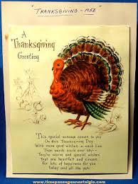 colorful 1956 hallmark pop up turkey thanksgiving greeting card tpnc