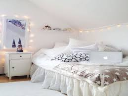 white fairy lights for bedroom