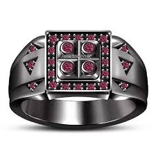 pave mens ring diamond and ruby 3d printable 398 best men s ring images on