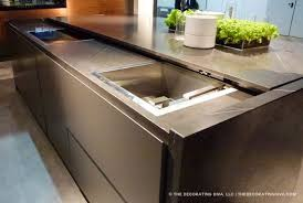 Kitchen Island Trends Retracting Counter Top Hide Sink Love The Idea Of Prep Space And