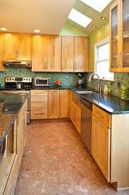 clear coat for cabinets exle with dark floor and black counters dont love this red