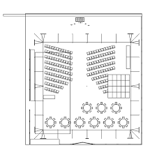wedding floor plans cad tent layout for wedding ceremony and reception in ferndale