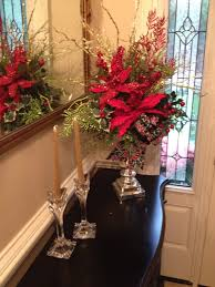 tall christmas centerpiece arrangement 36 inches tall red