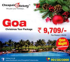 combine your goa flight tickets with goa land packages book delhi