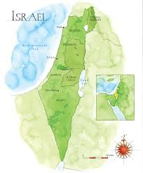Israel World Map Recanati Palmbay
