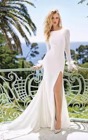 White Wedding Dresses Top 20 Wedding Dresses With Slit