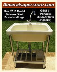 outdoor sink faucet outdoor kitchen sinks pictures tips expert