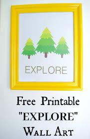 cheap printable wall art free explore and adventure travel printable wall art decor