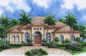 Ranch Style Mansions by Florida One Story House Designs Luxury Mediterranean Home Plans