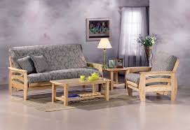 microfiber futon sofa couch pleasing futon living room set home
