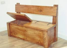 monk pew storage bench made by nook