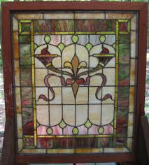 antique stained glass transom window interior excellent picture of furniture for home interior