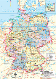 Maps Germany by Germany Tourist Map Germany U2022 Mappery