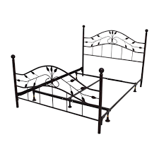 White Double Metal Bed Frame Bed Frames Black Metal Bed Frame Uk Black Metal Bed Frame Double