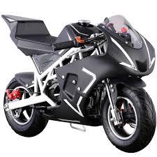 black honda bike style gas pocket bike 40cc 4 stroke mini ninja honda clone super