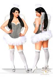 plus size costumes buy a plus size angel costume