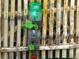 how to build a vertical garden from soda bottles with pictures