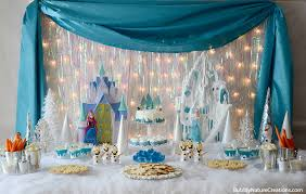 frozen party 12 cool frozen party ideas blissfully domestic