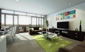 Apartment Living Room Ideas Living Room With White Leather Sofa Creation Home Intended For