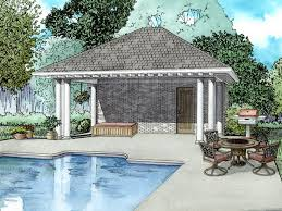 pool houses plans pool house plans pool house plan with equipment storage and bath