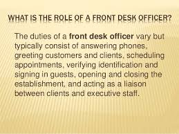 What Is The Meaning Of Desk Meaning Of Receptionist Sb College Of Master Of Tourism Administra U2026