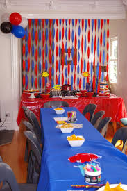 How To Decorate Birthday Party At Home by 25 Best Spider Man Birthday Ideas On Pinterest Spiderman