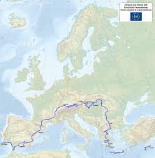 Map Of Northern Spain by E4 European Long Distance Path Wikipedia