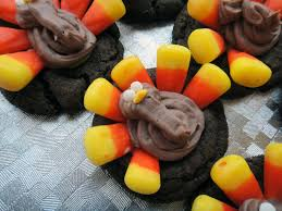 thanksgiving oreo turkey cookies recipe worth pinning candy corn turkey cookies