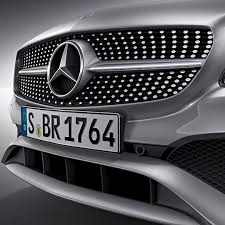 mercedes grill radiator grille amg package mercedes a