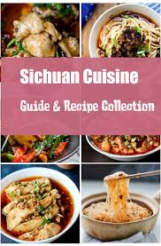 collection cuisine sichuan cuisine guide and recipe collection